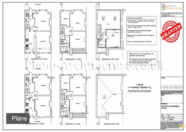 Case Stus for dormer conversion,house extension,loft planning ... Dormer Structural Plans on rafter plans, cupola plans, awning plans, porch plans,