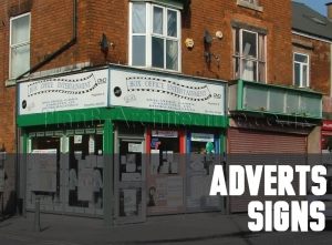 Planning Drawings  for Adverts and Signs