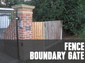 Planning Drawings for Fence | Boundary | Gate