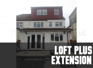 Planning Drawings for a Loft Plus Extension