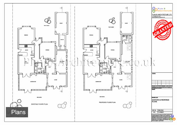 Plan b architecture ltd planning drawing planning for Garage plans uk